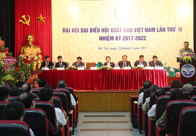 Đại hội Hội Xuất bản Việt Nam lần thứ IV nhiệm kỳ 2017-2022