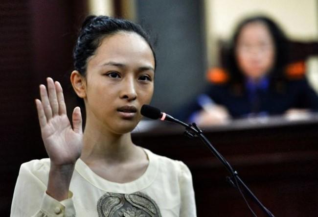 Hoa hậu Trương Hồ Phương Nga.