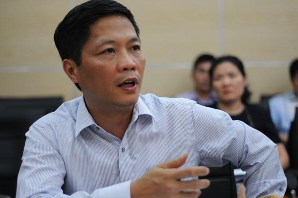 Bộ trường Trần Anh Tuấn. Nguồn VietNamNet