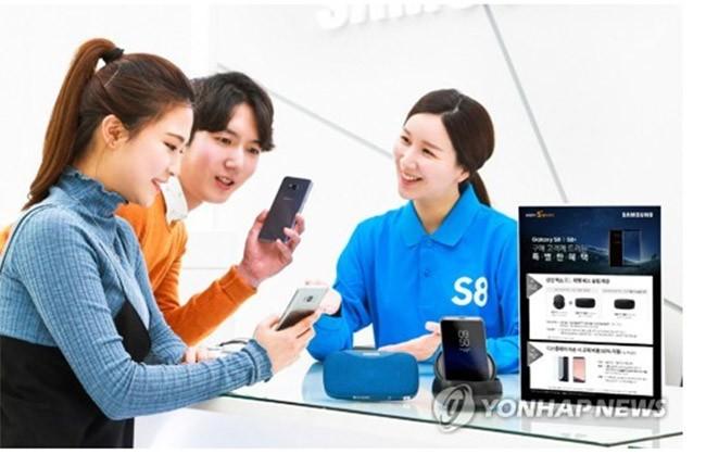 Galaxy S8 và S8 Plus sẽ được sửa lỗi màn hình ám đỏ
