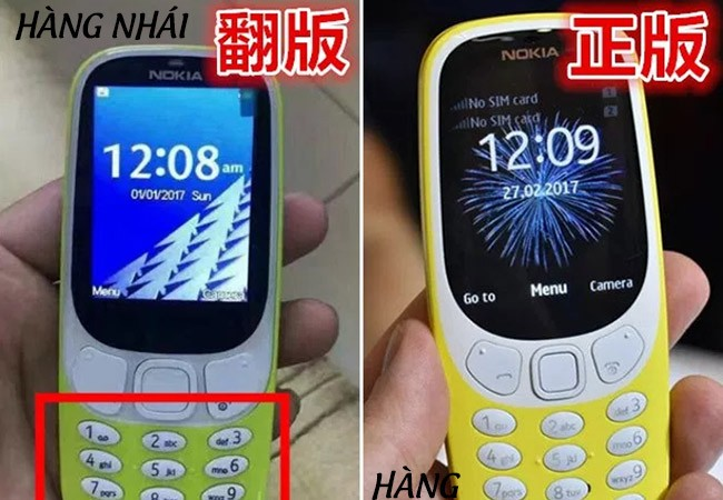 Nokia 3310 được làm mới từ phiên bản xuất hiện cách đây 17 năm