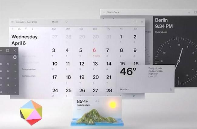 Windows với giao diện mới mẻ, hấp dẫn