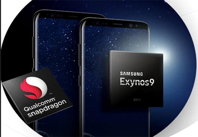 Galaxy S8 có hai phiên bản sử dụng chip Exynos và Snapdragon