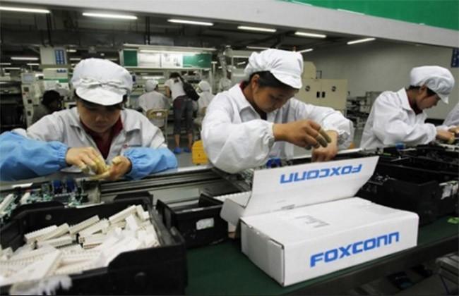 Foxconn là đơn vị chuyên lắp ráp iPhone cho Apple