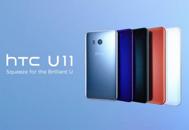 HTC U11 có doanh số khá ấn tượng trong chưa đầy 1 tháng ra mắt