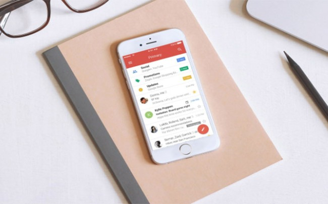 Gmail cho iOS (ảnh: Wired)