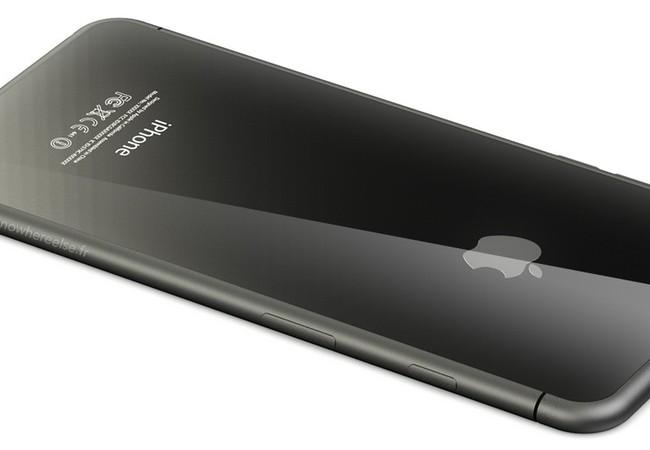 Ý tưởng iPhone 8 bằng kính.