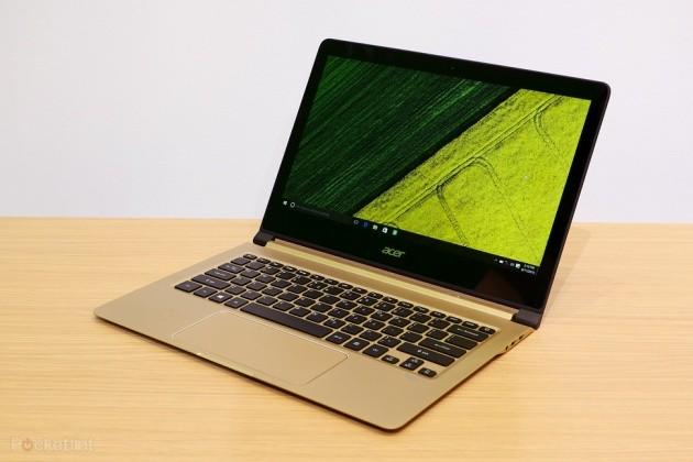 Laptop mỏng nhất thế giới thuộc về Acer Swift 7.