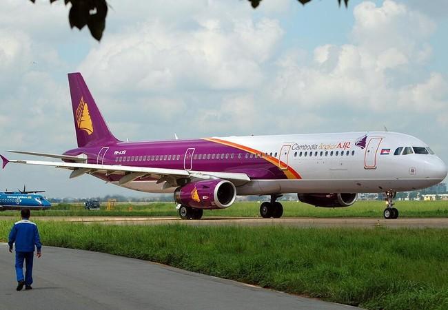 Cambodia Angkor Air mở đường bay Hà Nội -Siem Riep (Campuchia).