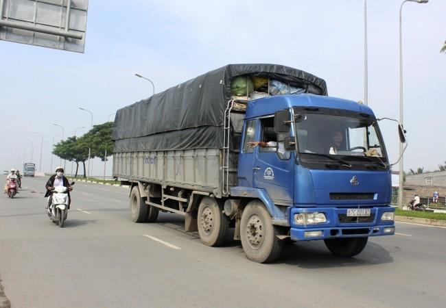 Sẽ phạt nặng xe tải chưa lắp giám sát hành trình- (Ảnh minh họa).