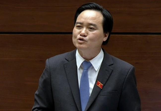 Bộ trưởng Phùng Xuân Nhạ đăng đàn trả lời chất vấn trước Quốc hội