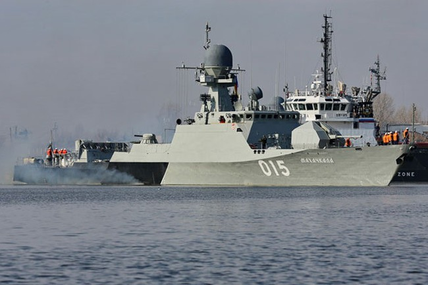 """Chiến hạm """"nhỏ nhưng có võ"""" Buyan-M Nga: IS kinh hồn, NATO e sợ"""