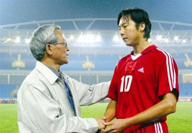 Le Huỳnh Đức ngày còn thi đấu.