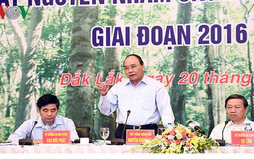 Thủ tướng Chính phủ Nguyễn Xuân Phúc. (Ảnh: VOV)