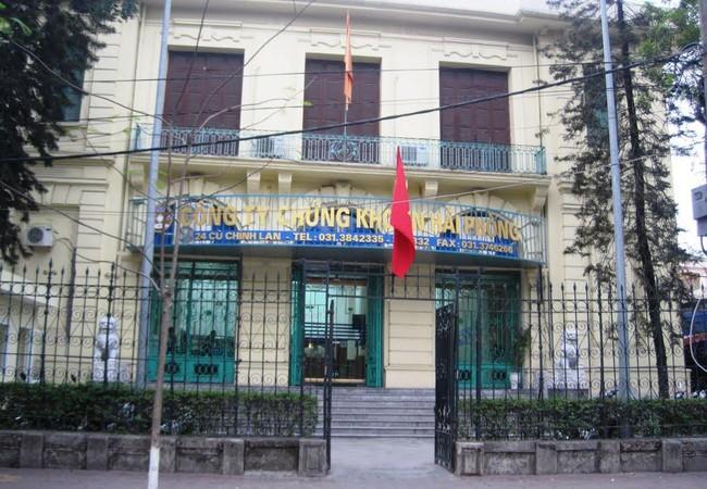 Trụ sở CTCP Chứng khoán Hải Phòng.