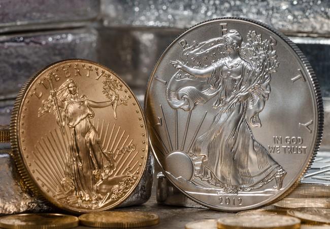 Tuần qua, giá vàng, giá bạc cùng tăng 1,5%, tỷ giá trung tâm hạ 4 đồng. (Ảnh: MarketWatch)
