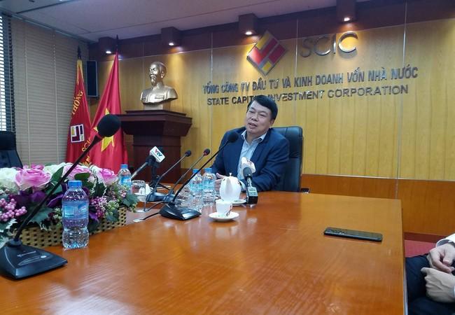 Chủ tịch Hội đồng Thành viên SCIC, ông Nguyễn Đức Chi. (Ảnh: X.T)