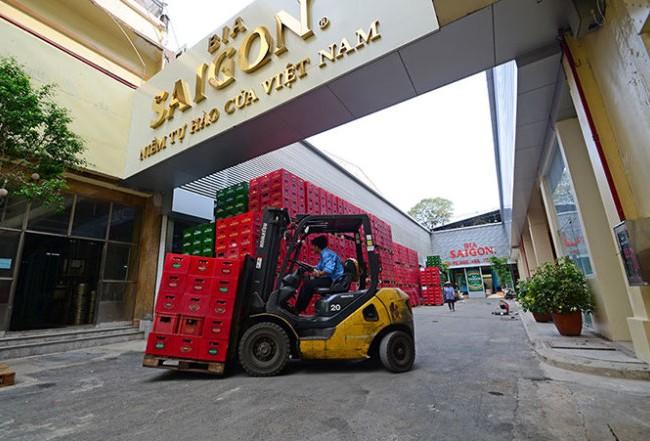 Tính đến 30/06/2017, Sabeco đang nắm giữ 52% vốn điều lệ Sabeco Hanoi, tương ứng với 93,8 tỷ đồng. (Ảnh: Tuổi trẻ)