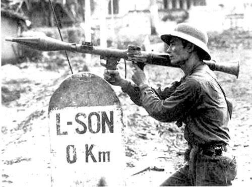Bộ đội Việt Nam chiến đấu bảo vệ Lạng Sơn trong cuộc chiến biên giới phía bắc năm 1979