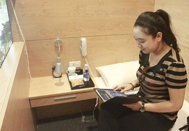 Trải nghiệm miễn phí dịch vụ hộp ngủ tại sân bay Nội Bài