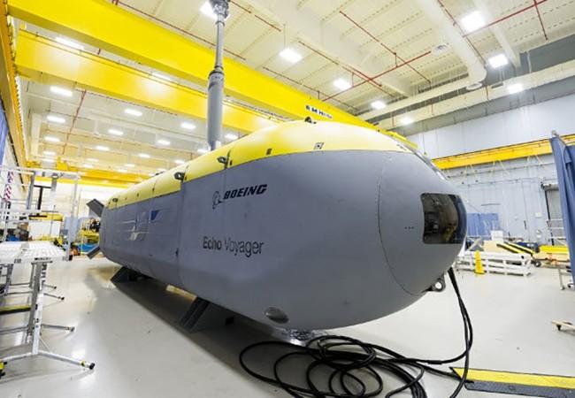 Tàu ngầm không người lái Echo Voyager có thể hoạt động liên tục 6 tháng dưới biển.