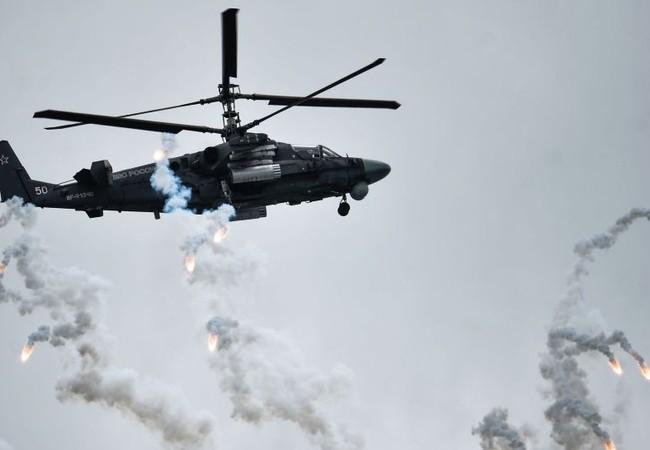 """Video: Trực thăng Nga """"Alligator"""" ở Syria xuất hiện trên YouTube"""
