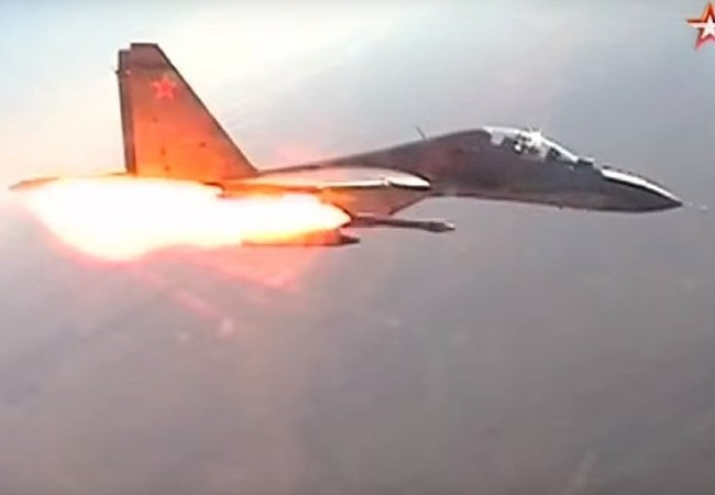Video: Mãn nhãn trận đấu của các chiến đấu cơ trên bầu trời Kursk