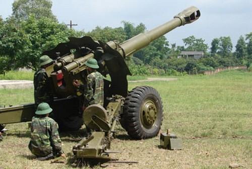 Xe tăng, pháo cao xạ quân đội Việt Nam tập trận bắn đạn thật