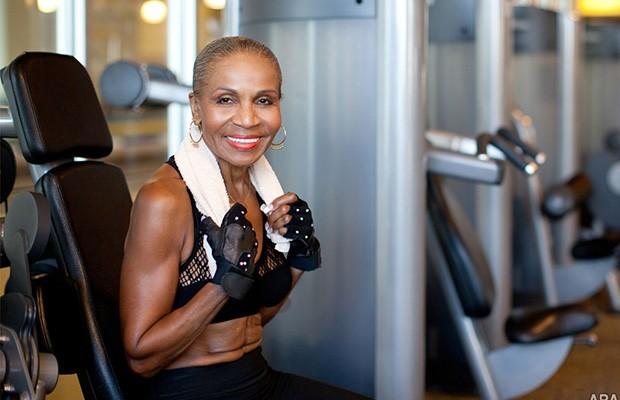 Ernestine Shepherd là một trong những nữ vận động viên thể hình lớn tuổi nhất thế giới.