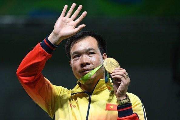 Hoàng Xuân Vinh giúp thể thao Việt Nam có tấm HCV đầu tiên ở Olympic