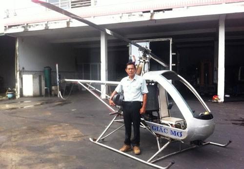 Ông Hiển và chiếc trực thăng mơ ước