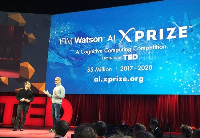 IBM công bố giải thưởng trí tuệ nhân tạo IBM Watson AI Xprize giai đoạn 2017-2020.  Ảnh: IBM