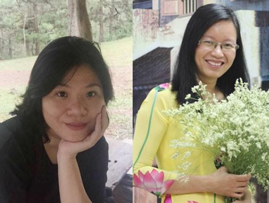 Hai cán bộ của FPT IS Phạm Thị Quỳnh và Đặng Thị Thúy Nga vừa gia nhập nhóm nữ chuyên gia công nghệ của FPT (Nguồn ảnh: Chungta.vn)