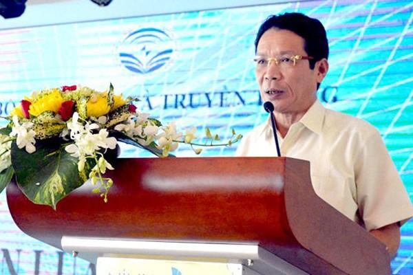 Thứ trưởng Bộ TT&TT Hoàng Vĩnh Bảo phát biểu tại hội nghị.