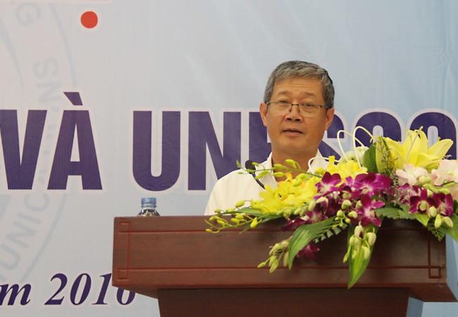 Thứ trưởng Nguyễn Thành Hưng phát biểu tại hội nghị