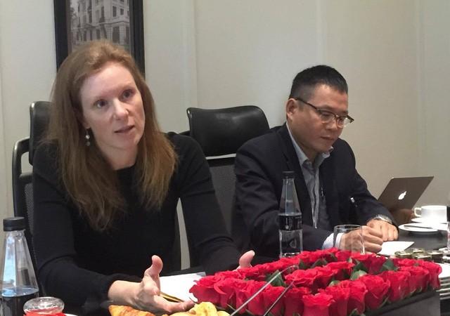 """Bà Monika Bickert:""""6 tháng qua, chúng tôi không thấy có yêu cầu nào từ Chính phủ Việt Nam về gỡ bỏ nội dung trên Facebook""""."""