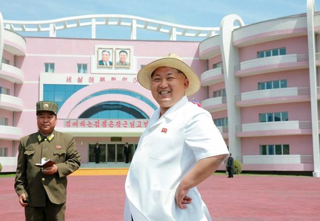 Nhà lãnh đạo Triều Tiên Kim Jong Un.