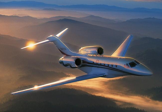 Cessna Citation X do công ty hàng không Cessna Aircraft sản xuất.