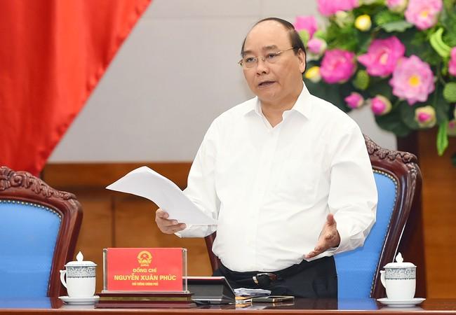 Sáng nay (15/5), Thủ tướng Nguyễn Xuân Phúc chủ trì cuộc họp với các địa phương theo hình thức truyền hình trực tuyến về tình hình an ninh trật tự.