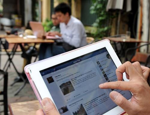Hiện có khoảng 45 triệu người dùng Facebook tại Việt Nam.