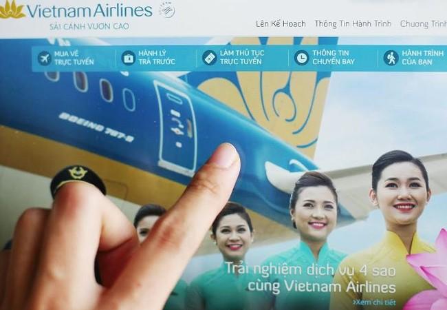 24 giờ trước giờ dự định khởi hành của chuyến bay, hành khách đi Vietnam Airlines sẽ sẽ nhận được email mời làm thủ tục trực tuyến trên website của hàng. Ảnh: Nhật Minh
