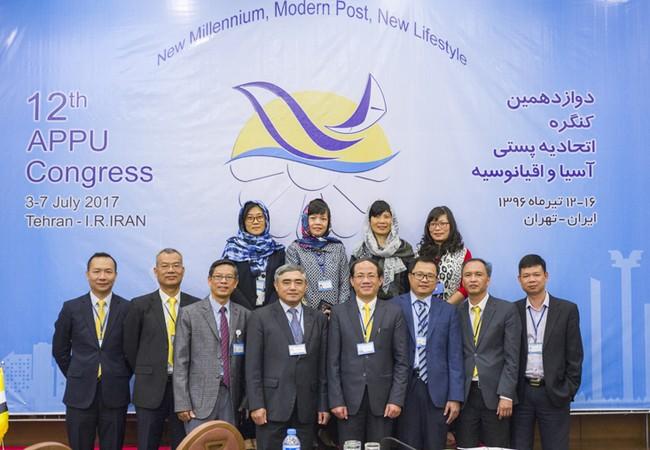 Đoàn Việt Nam dự Đại hội Liên minh Bưu chính khu vực Châu Á – Thái Bình Dương lần thứ 12