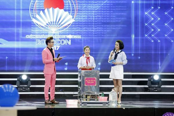 Nguyễn Thanh Bình tại vòng chung kết Robocon Việt Nam 2017