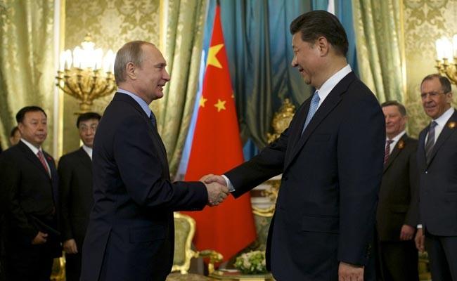 Ông Putin và ông Tập gặp gỡ tại điện Kremlin ở Mátxcơva hôm 8/5/2015