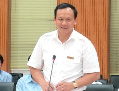 Ông Nguyễn Nhật là thứ trưởng thứ 7 của Bộ Giao thông vận tải.