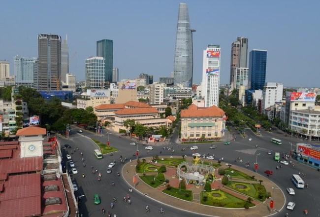 Khu vực trước chợ Bến Thành và đường Lê Lợi nằm trong phương án xây dựng trung tâm thương mại ngầm dưới lòng đất