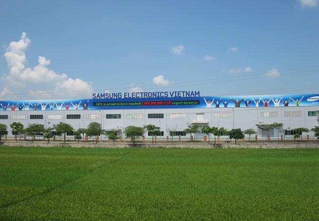 Nhà máy Công ty Samsung Electronics Việt Nam