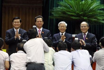 Đã gần trọn nhiệm kỳ 5 năm trôi qua kể từ khi Quốc hội khoá XIII bầu Chủ tịch nước, Chủ tịch Quốc hội, Thủ tướng vào tháng 7/2011