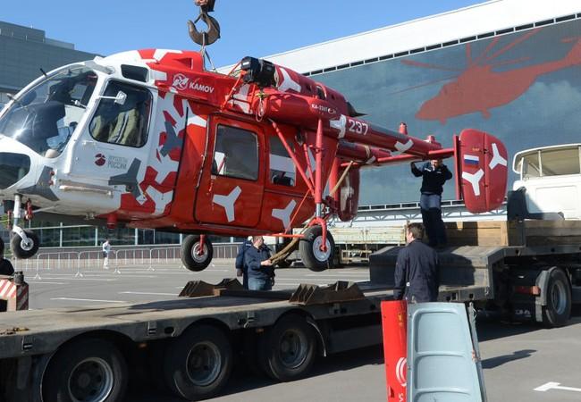 Nga và Ấn Độ khởi động sản xuất 200 trực thăng Ka-226T
