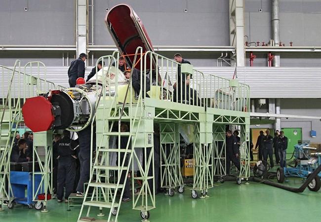 Video quy trình sản xuất tiêm kích MiG-35 của Nga
